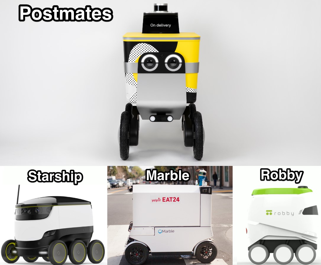Uber Serve Robotics