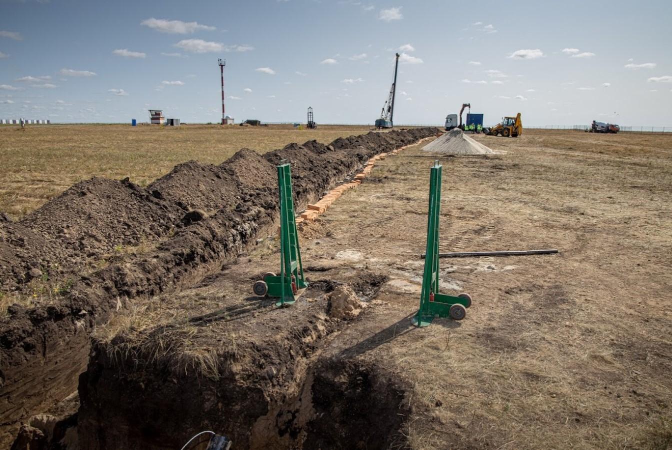 Строительство аэропорта в Днепре. Будівництво аеропорту в Дніпрі