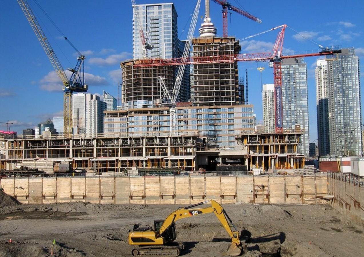 Жилое строительство.. Житлове будівництво
