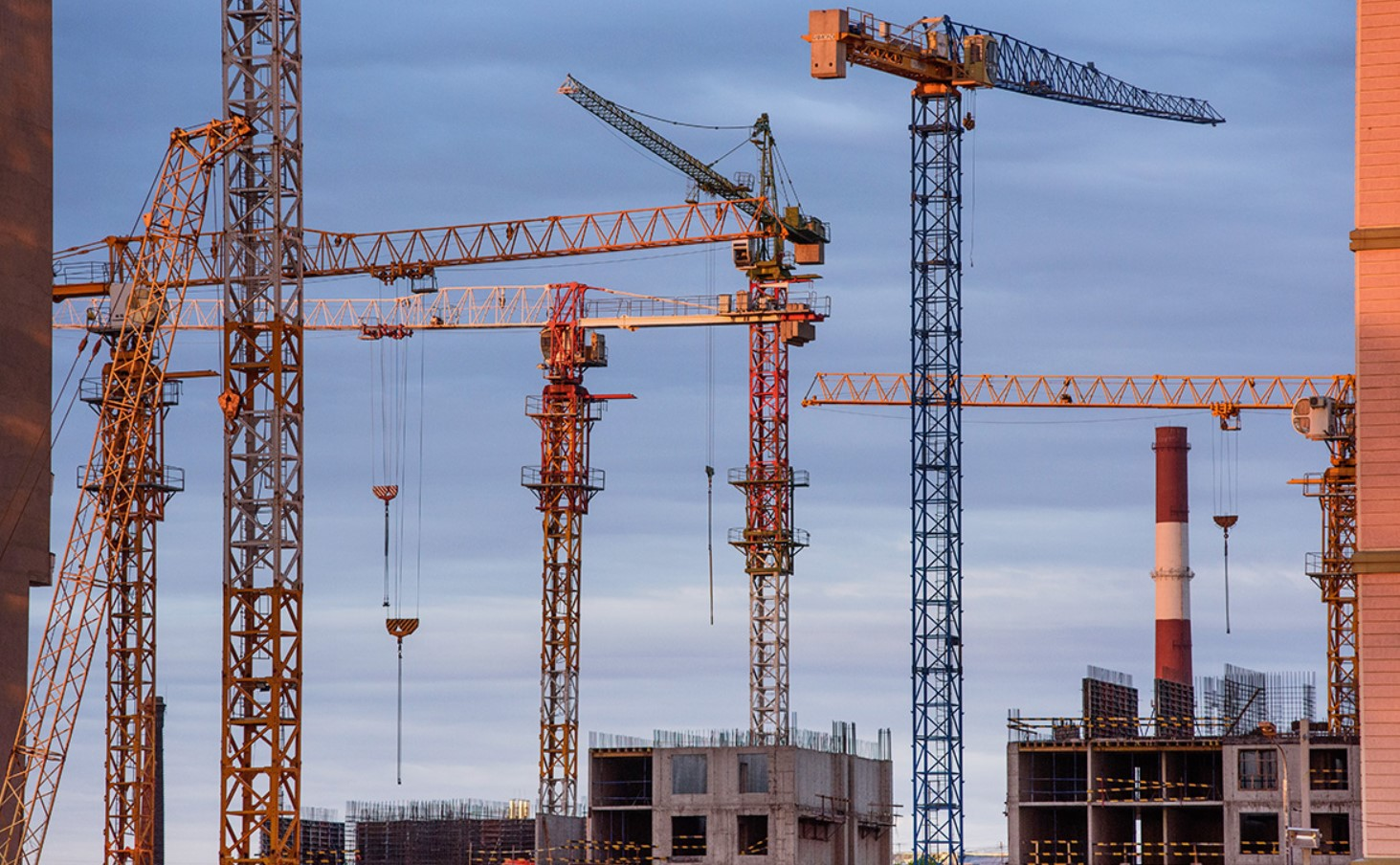 Строительство инфраструктуры. Будівництво інфраструктури
