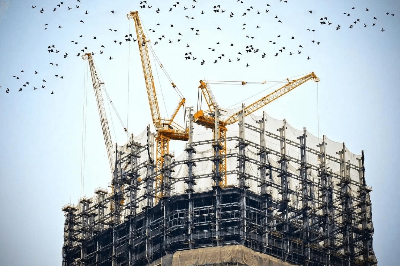Строительство жилья. Будівництво житла